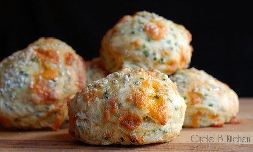 Cheese-y Beer Scones by circle-b-kitchen. Recipe from The Culinary School of the Rockies.  #Beer_Scones
