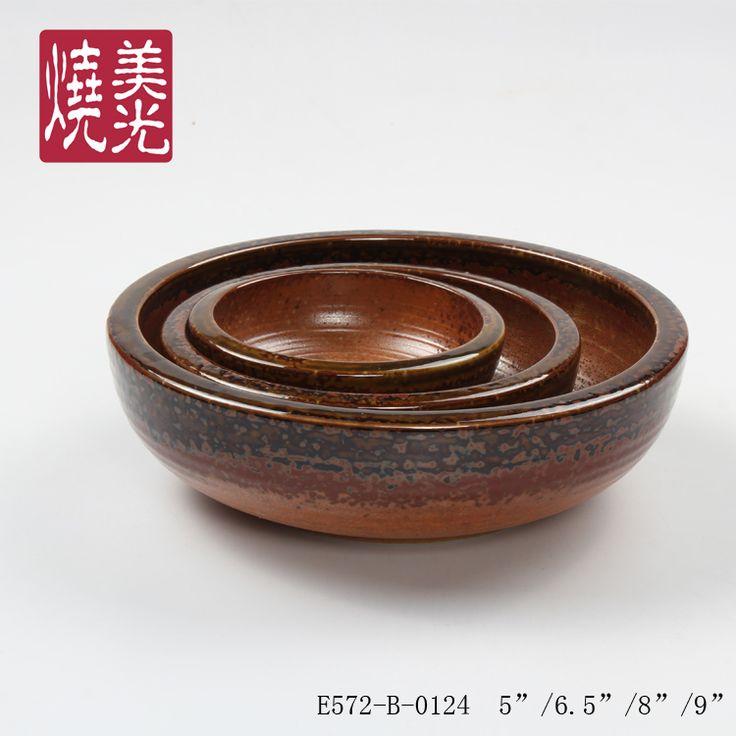 Japanese Cuisine tableware&ceramic serving bowl E572-B-0124