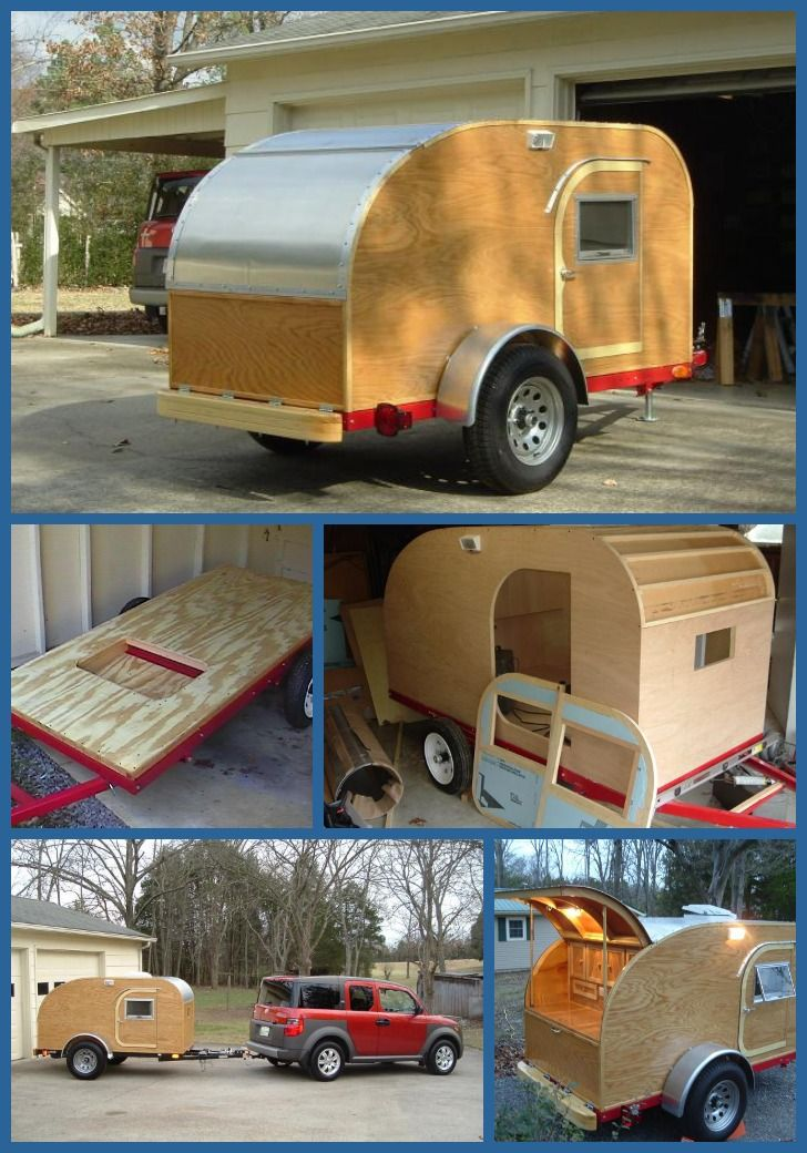 Teardrop Trailer With Bathroom: 31 Best Images About Teardrop Trailers On Pinterest
