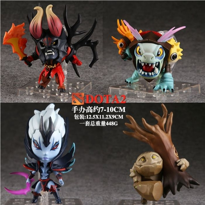 DOTA2 figure YOU-Q Anime Wholesale: Home > Comic Toys > Other Cartoon > DOTA2 figure 4 pcs for 1 set More Details: http://www.you-q.net/goods-111907.html Our Homepage: http://www.you-q.net