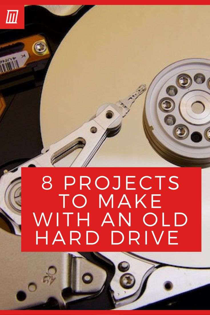 7 DIY Projects for Your Old Hard Drive | Electronics ...