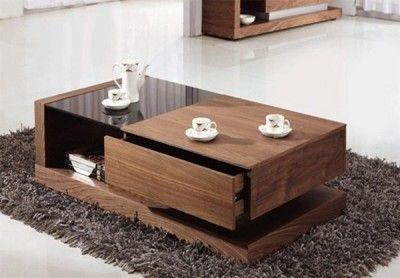 Alpha Glass Coffee Table