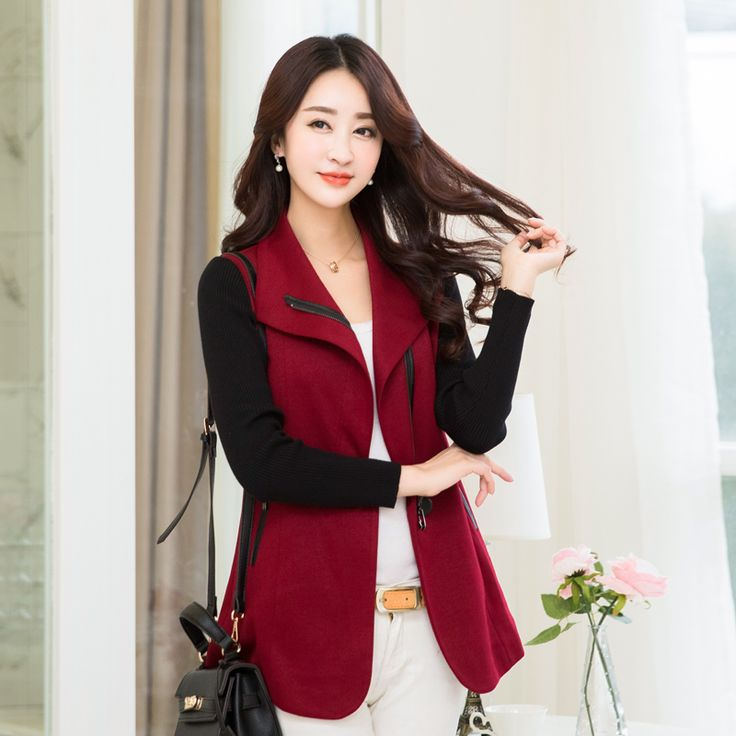 trench coat for women spring and autumn woolen outerwear young girl short design trench coats 5131 plus size m-4xl