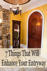 7 Things that will enhance your entryway