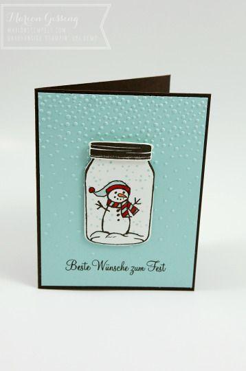 Jar of Cheer – Vorschau auf den Stampin' Up Herbst-Winterkatalog…