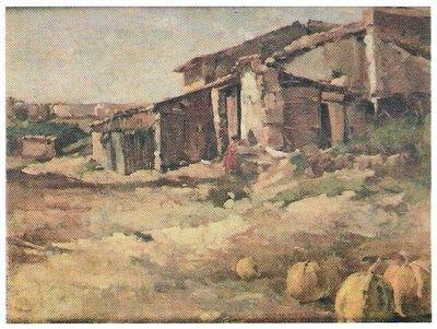 1931  Óleo sobre cartão (28,5 x 37 cm)