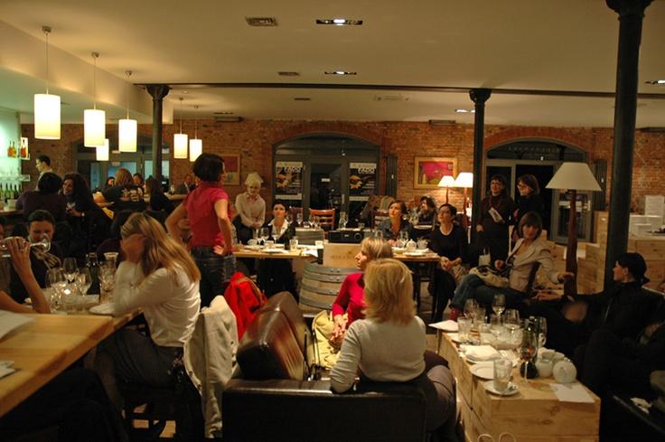 Spotkanie Klubu Kobiet Przedsiębiorczych w Mielżyński Wine www.babilad.pl