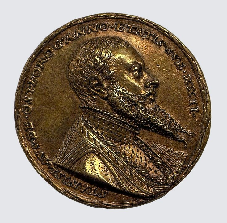 Medal of Stanisław Ostroróg (1519-1568) by Matthes Gebel, 1542, The State Hermitage Museum