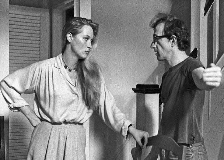 Meryl Streep i  Woody Allen w filmie