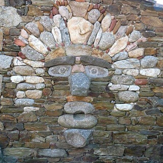 Art Stone Walls : Best pebbles sassi images on pinterest decks