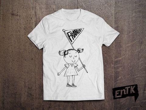 T-Shirt Tite-fille Franco – EnTK