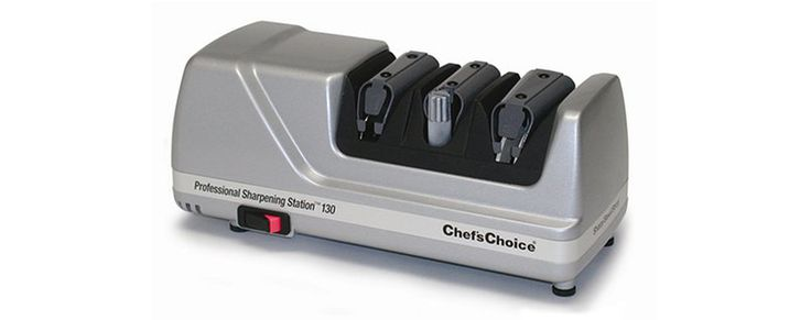 Chef's Choice 130 Professional Knife-Sharpening Station (Platinum)