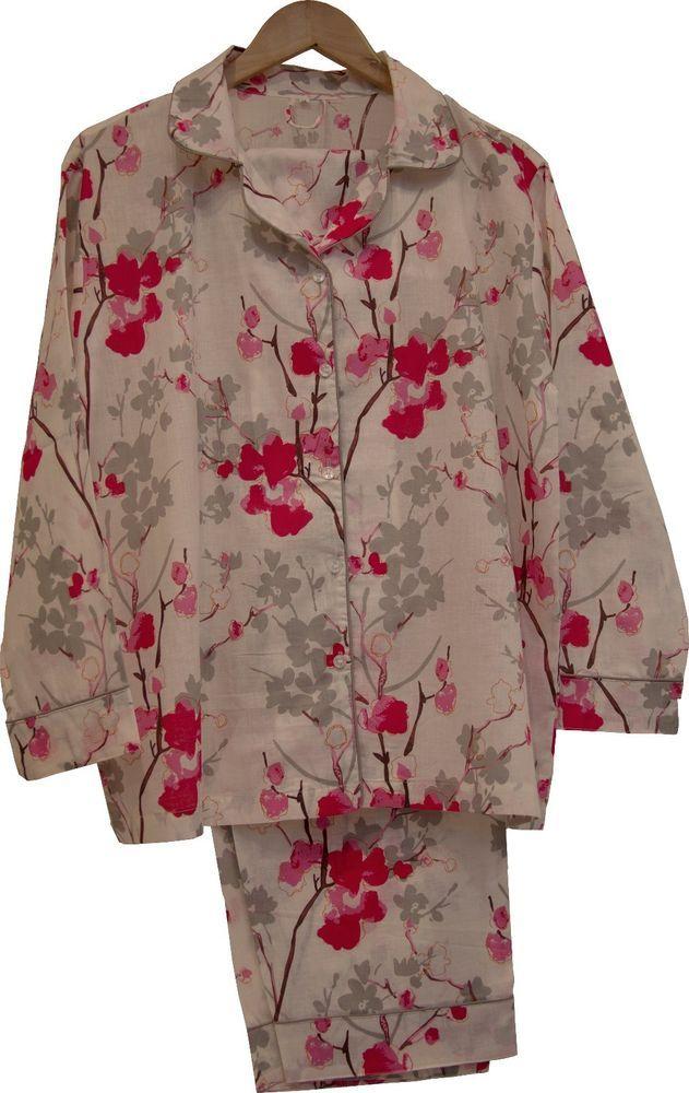 Wild Flower: 100% Cotton Women's Pajamas