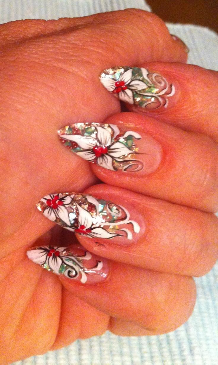 7 best Uñas en relieve images on Pinterest | 3d acrylic nails, Belle ...