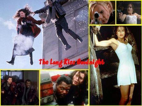 Geena Davis & Samuel L. Jackson ~ The Long Kiss Goodnight