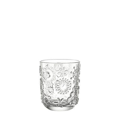 Leonardo 014782 Set 6 Glas Becher klein Fiorita, klar Leo…