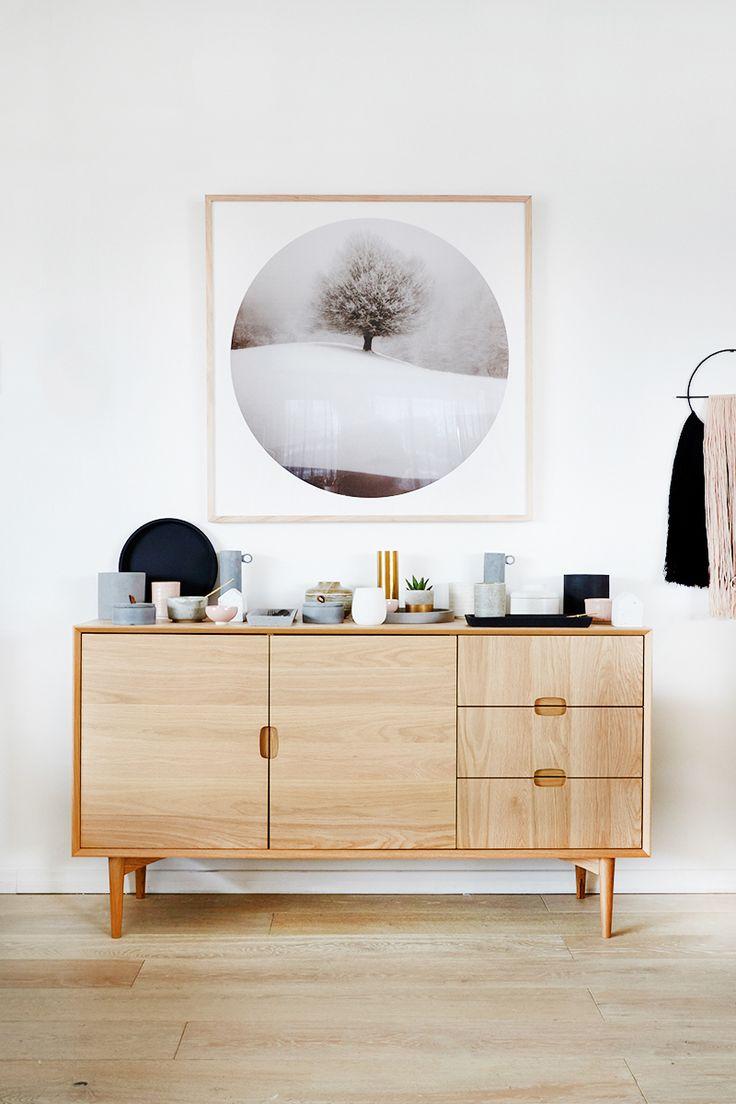 Scandi style sideboard -UNITED INTERIORS' NEW MELBOURNE SHOWROOM — Adore magazine