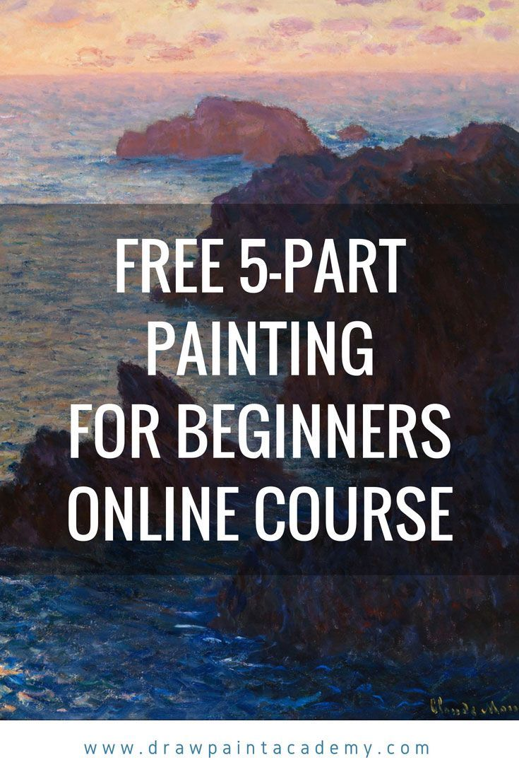 Free Painting Course For Beginners Painting Courses Drawing For