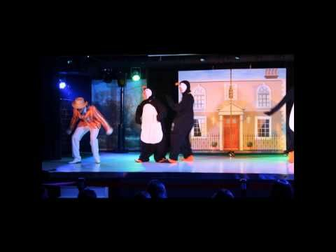 Music & Entertainment in Benalmadena: Mary Poppins Show at Sunset Beach Club, Benalmadena - YouTube