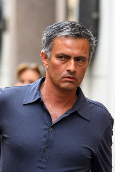 Jose Mourinho Out And About In Milan