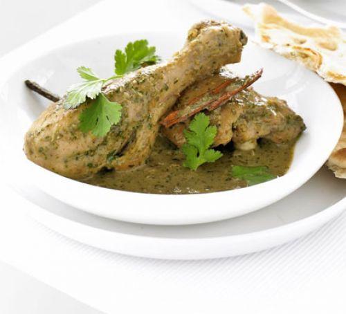 Fragrant chicken, coriander & coconut curry