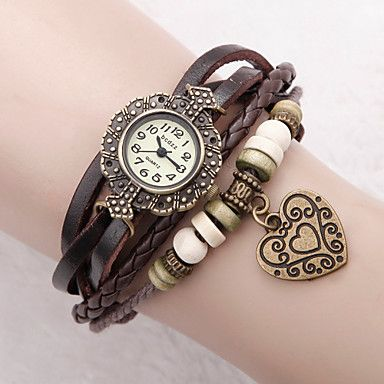 relógio pulseira de marcação flor boêmio das mulheres – EUR € 5.93