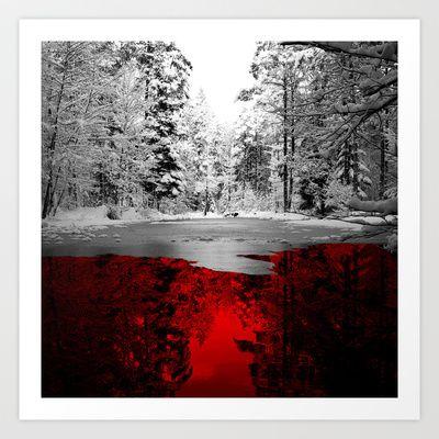 Specular Reflection Art Print by Leon Greiner - $16.00