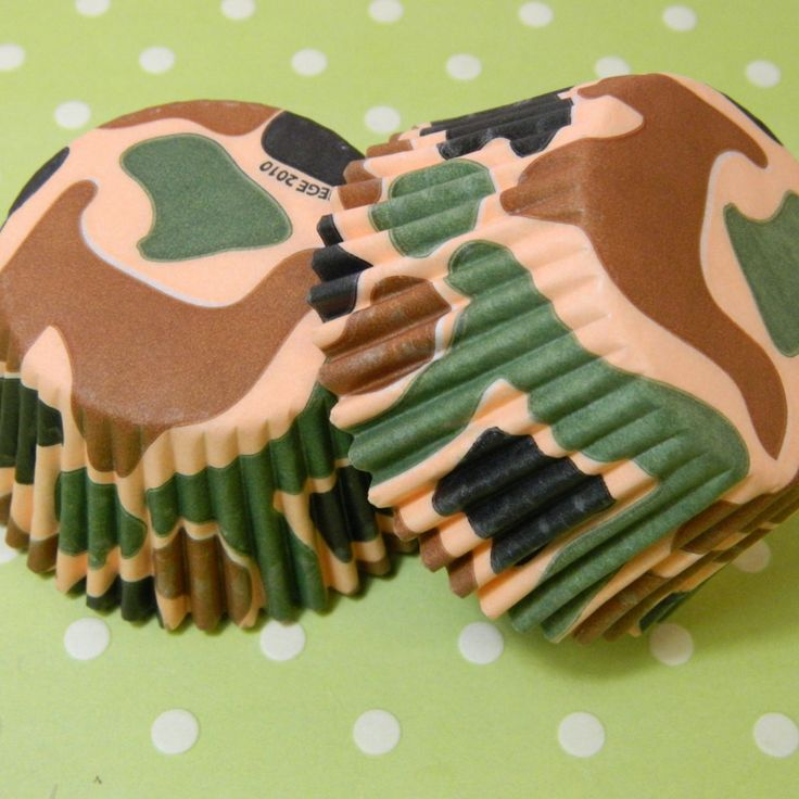 Having a hunting theme party? These cupcake liners are perfect to add to your…