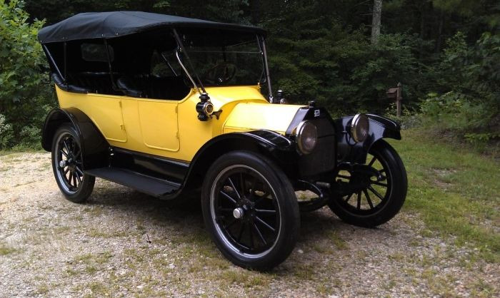 1914 Buick B-25 Touring Convertible