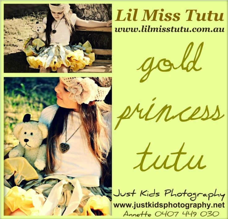Gold Princess Tutu    Gorgeous & so Soft ..... this Devine Gold Tutu Is fabulous for Christmas , Flowergirls , everyday wear for the Lil Miss Princess