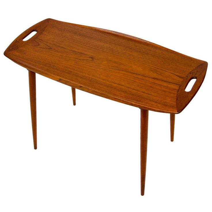 1950's Danish Teak Small Occasional Table by Jens Quistgaard for Richard Nissen (1stdibs)
