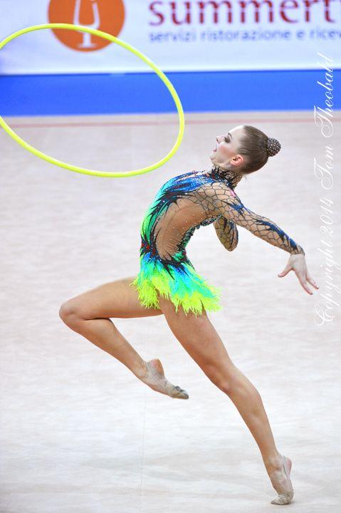 Melitina Staniouta (Belarus) /World Cuo 2014 in Pesaro...