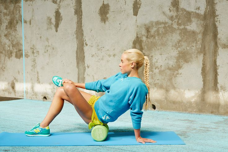 "Where You Hurt & How To Fix It #refinery29  http://www.refinery29.com/reduce-pain-exercises#slide17  Roll Your: Glutes ""The majority of the population will deal with low back pain at some point in their life,"" explains Stull. And, the pain is often attributed to poor posture and alignment of the hips. ""When we are seated for long periods of time, the big muscles in the back of the hips — known as the glutes — become immobile... Taking time to roll these areas can introduce some movement ..."