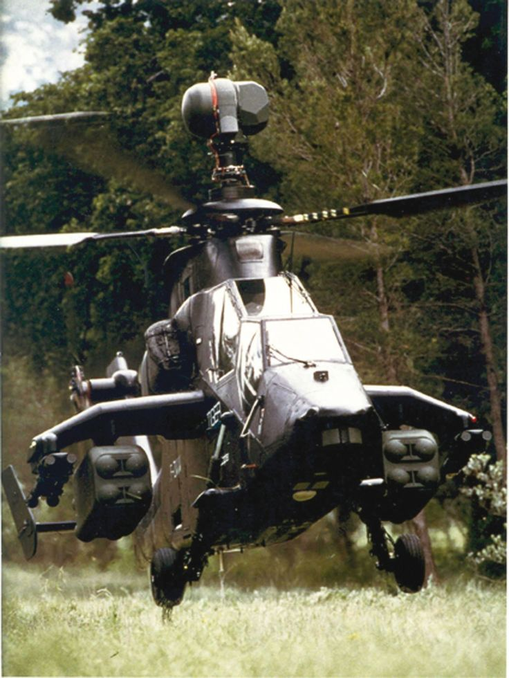 Ec-665 Tiger With Full Load of PARS 3 LR