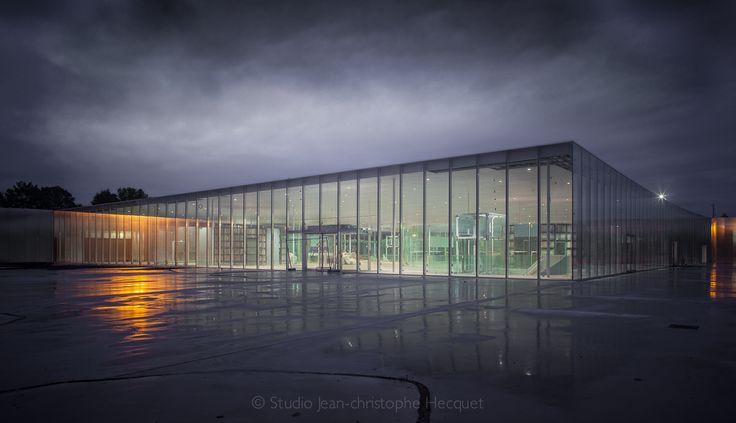 Architecture -> Musée Du Louvre / Lieu: Lens /  Architecte: Ryūe Nishizawa et  Kazuyo Sejima / Date: Novembre 2012.