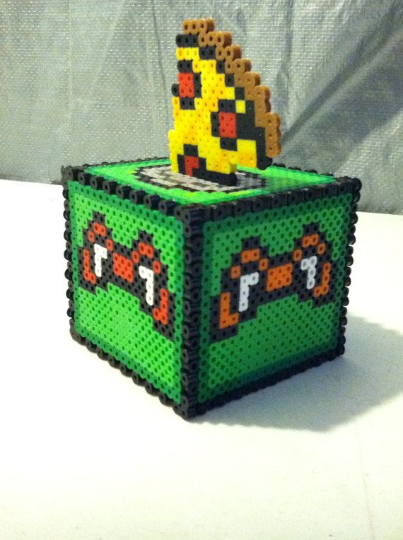 Teenage Mutant Ninja Turtle Bank by TriforceInk on Etsy