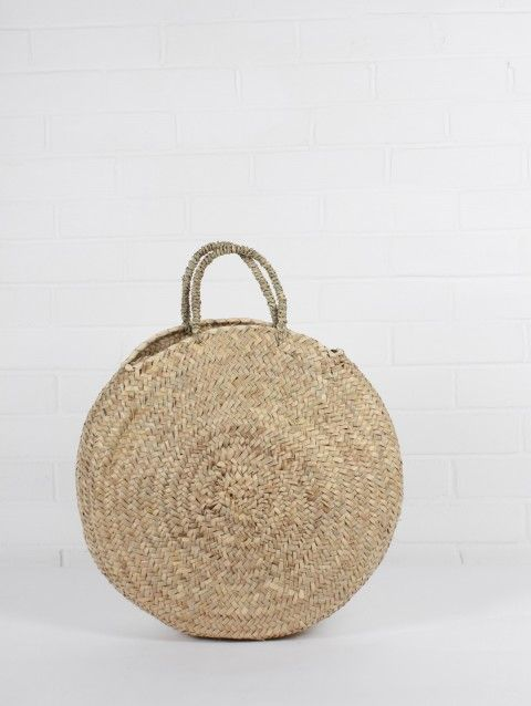 Florence Basket - Moroccan Baskets - By Style - Bags