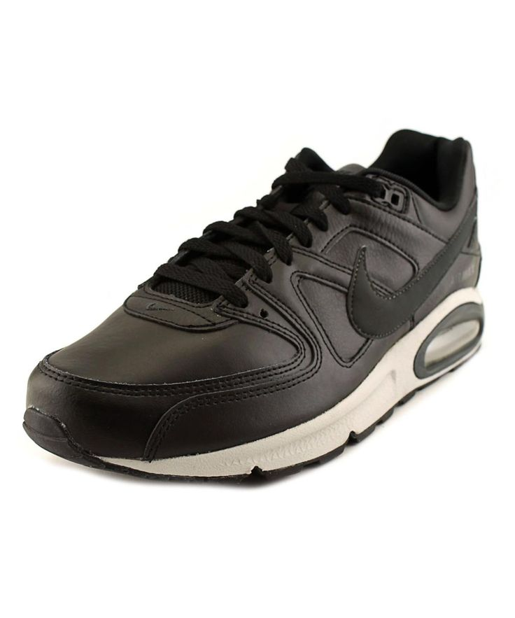 NIKE Nike Air Max Command Men  Round Toe Leather Black Running Shoe'. #nike #shoes #sneakers