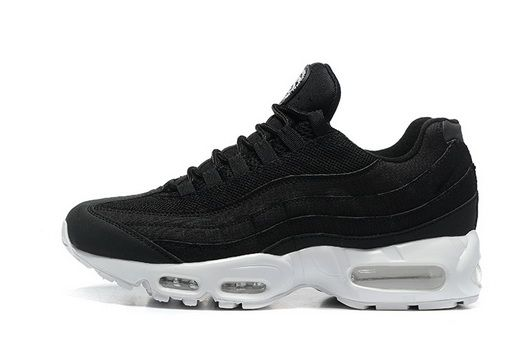 best sneakers fe7d6 5f18e Cheapest 2018 Stussy X Nike Air Max 95 Black White Shoe | 9 ...