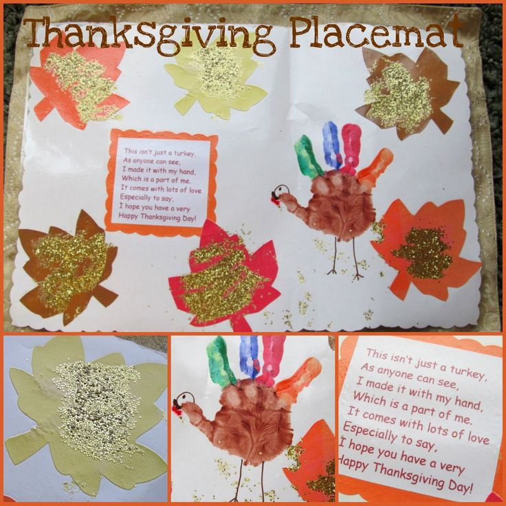 17+ Preschool thanksgiving crafts placemats info