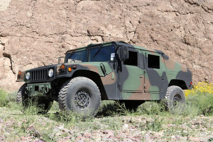The U.S. Marine Corps is Selling Slant Back Humvees for a Ridiculously Cheap Price