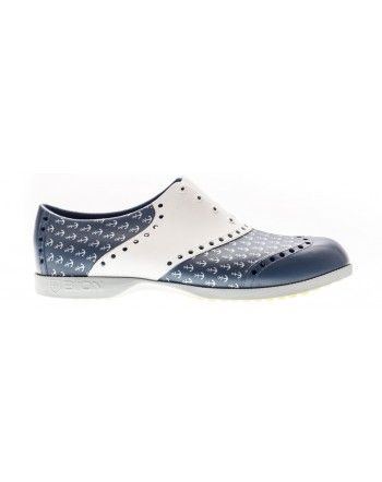 Scarpe Biion da golf - Stampa ancore  #golf #sport #sporty #clothing #accessories #golffashion #fashion #classy #style #preppy #shoes #cool #texture #lifestyle #footwear #navy