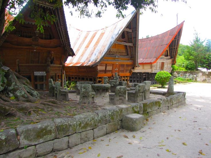 Traditional village Sumatra