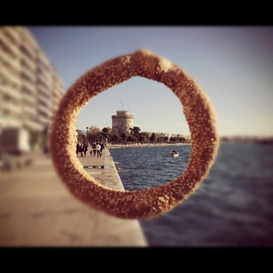 VISIT GREECE| Koulouri ring bread festival #koulouri #gastronomy #thessaloniki