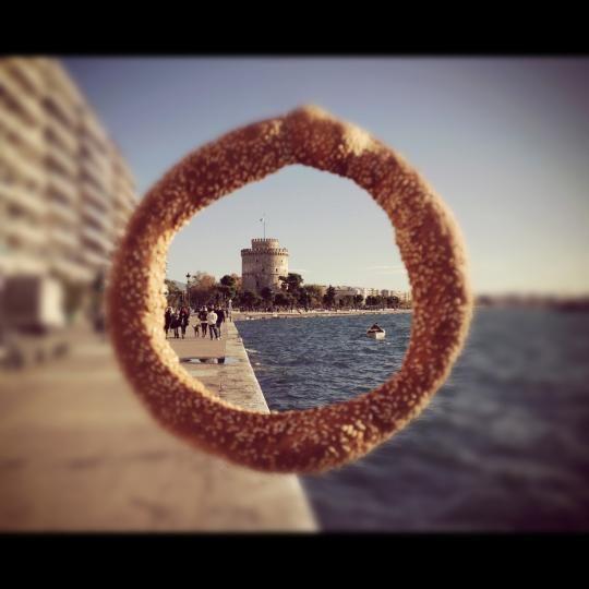 VISIT GREECE| Koulouri ring bread festival #koulouri #gastronomy #thessaloniki