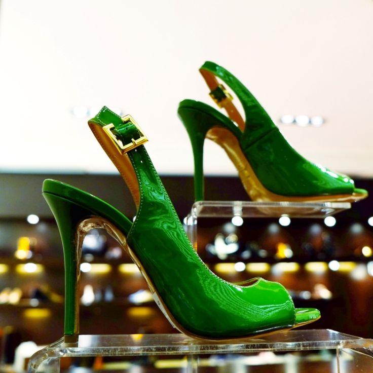 High Heels, #green Color, just Chaniotakis  #chanitakis #footwear #woman #shoes #luxury #fashion #greek #design #high #heels