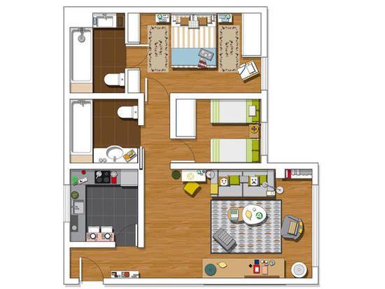 M s de 1000 ideas sobre casa de espacios abiertos en - Casas con espacios abiertos ...