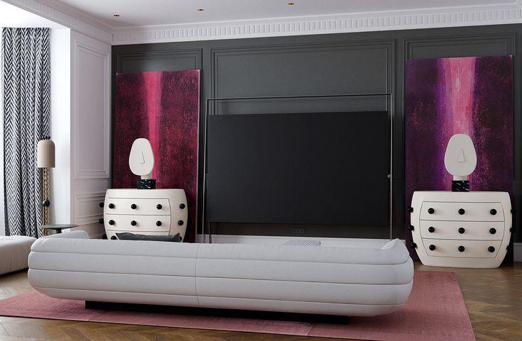 3 Hochmodern setzt auf neoklassizistische Einrichtungsideen   – #parlor 客廳 | Interior Design