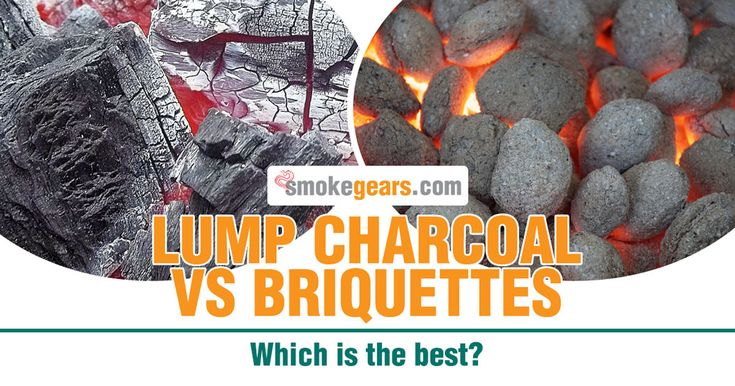 Lump charcoal vs Briquettes: Which is the best?