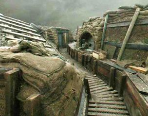 BBC - History - World Wars: Front Line Trench Virtual Tour